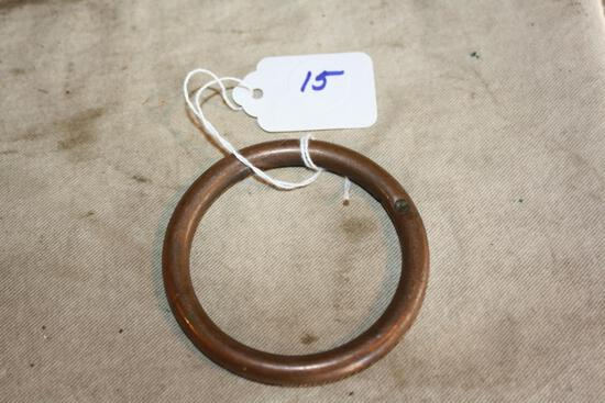 Rare Copper Bull Nose ring 2 3/4 Inches