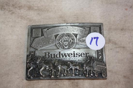 Vintage Budweiser Buckle Needs Bar No. T-169