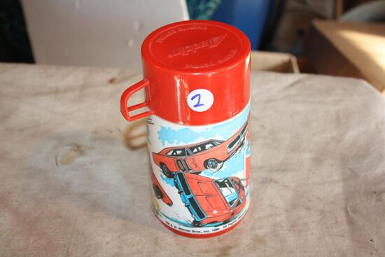 Vintage Aladdin Thermos, Dukes of Hazzard