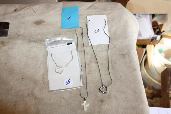 Sterling Silver .925 Necklaces