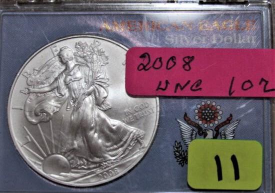 2008 American Eagle Silver Dollar
