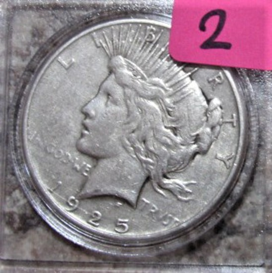 1925-P Peace Dollar