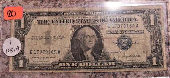 1957A Silver Certificate