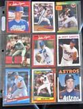 9 Baseball Cards