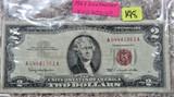 1963 Red dot $2
