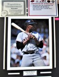 Willie Mays Signed Photo Large Display