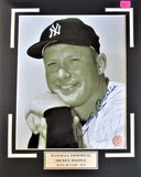 Mickey Mantle Signed Photo Large Display