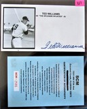 Ted Williams Signed Cache
