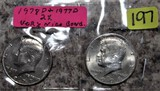 1978-D, 1977-D Kennedy Half Dollars