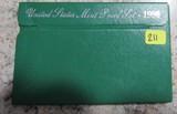 1996 United States Mint Proof Set