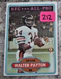 Walter Payton Bears Card #160