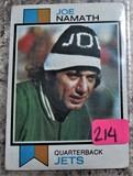 Joe Namath Jets Card # 400