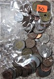 Bag of Foreign Coins