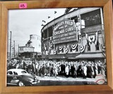 Wrigley Field Home of Chicago Cubs Framed Photo