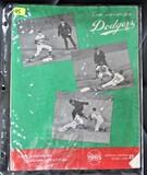 1965 Los Angeles Dodgers Stadium Program