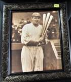 Framed Baseball Photo