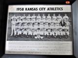 1958 Kansas City Athletics Framed Print