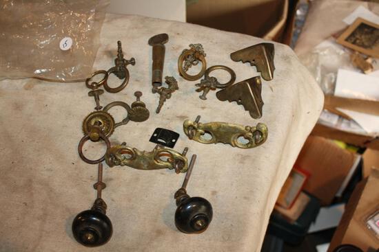 Antique Brass Hardware