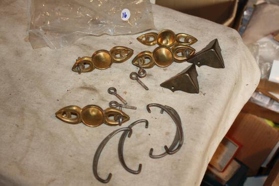 Antique Brass, Iron Hardware