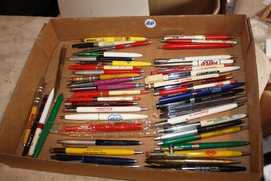 Adver. Vintage Pens, Mech. Pencils