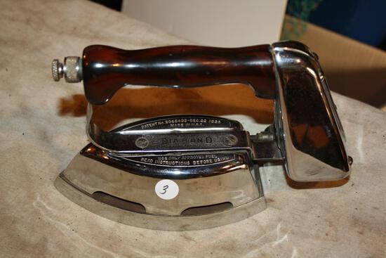 Antique Diamond Kerosene Iron