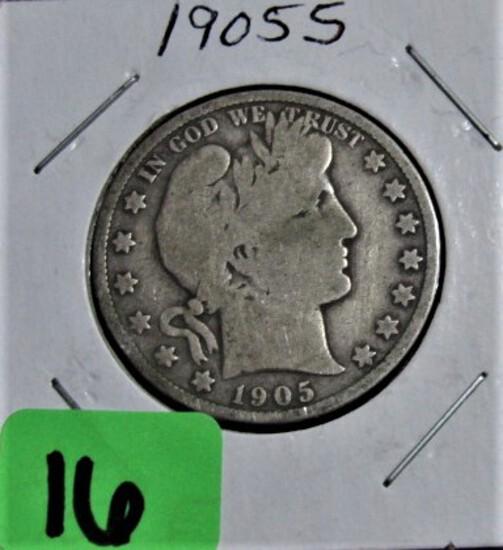 1906 Barber Half Dollar