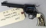 H. Schmidt Ostheim/Rhoen Model 21S 22 caliber revolver