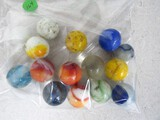 15 large marbles