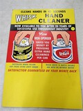 Whish Hand cleaner poster