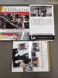 Three Kennedy hardback books