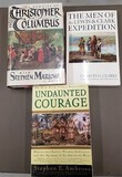 Christopher Columbus and 2 Lewis and Clark books