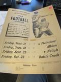 1964 Stanton NE Football Schedule