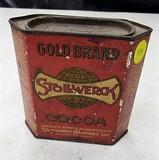 Stollwerck Cocoa tin