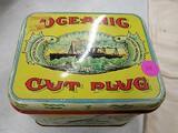 Oceananic cut plug tabacoo tin
