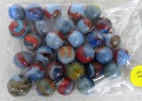 30 blue/red marbles