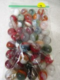 46 various marbles