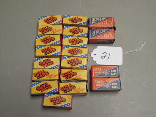 19 Boxes Roll Caps For Cap Gun