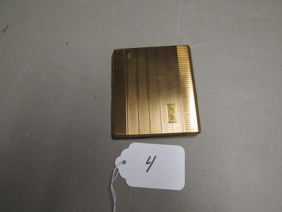 Brass Cigarette Case