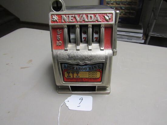 Backaroo Slot Machine Bank