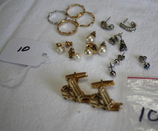 Clark Equip. Cufflinks Misc. Jewelry