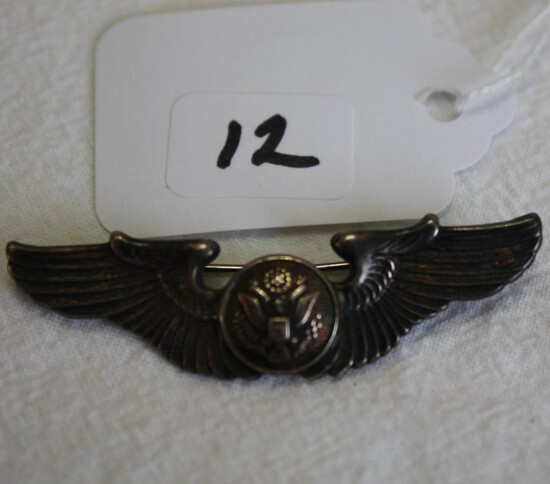 Sterling Military US Wings Badge