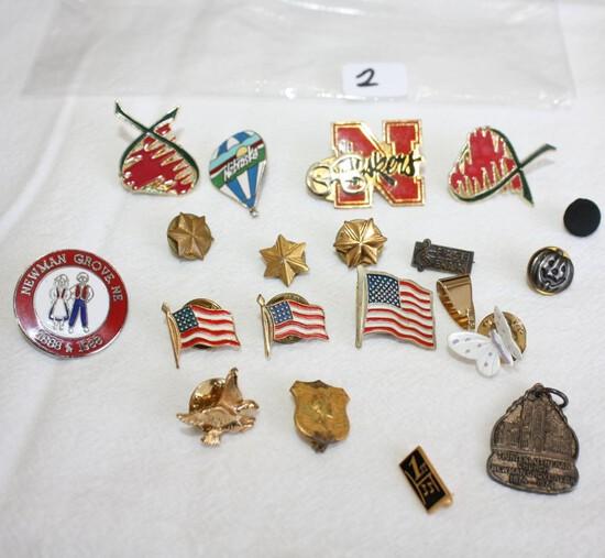 Military, Etc. Pins
