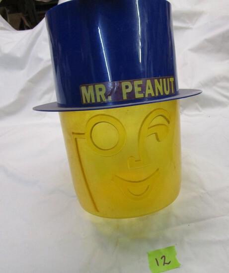 1970s Mr. Peanut Display