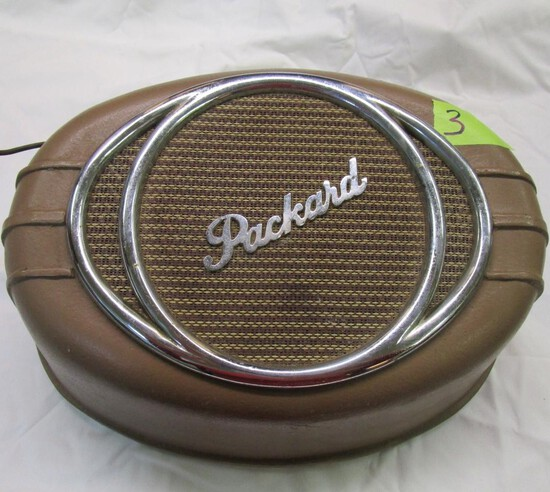Old Packard 750 Wall Hanging Stereo Speaker