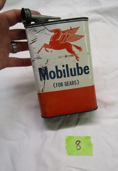 Old Mobilube Flying Horse 1 Quart Tin