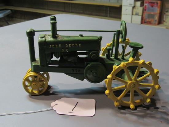 "diecast JD ""GP"" tractor"