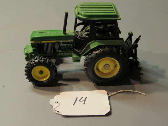 "diecast JD ""3350"" tractor"