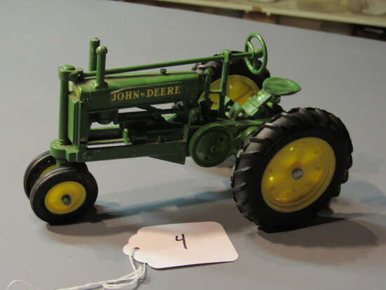 "diecast JD ""A"" tractor"