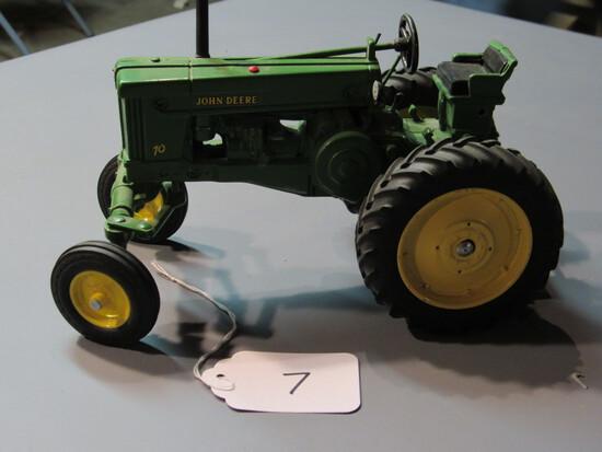 "diecast JD ""70"" tractor"