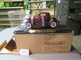 diecast 1932 3 window ford coupe (Franklin Mint)  W/box
